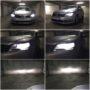 VW Passat B7 Osram H7 LEDriving Gen2 low beam + H7 V12 high beam + T10 LED position bulbs collage