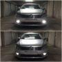 VW Passat B7 Osram P21W High Power LED DRL bulbs collage
