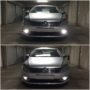 VW Passat B7 Osram P21W High Power LED DRL bulbs collage