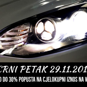 Black friday 29.11.2019 - get up to 30% discount on total amount