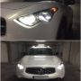 Infiniti FX35 Yeaky 5500K D2S xenon bulbs + Osram W5W Premium position lights collage 2
