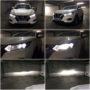 Nissan Qashqai MK2 FL H11 M8X low LED beam + H9 V12 high beam collage