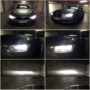 BMW F30 LCI H7 V13S LED low beam + H7 V12 LED high beam collage