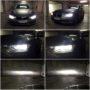 BMW F30 LCI H7 V13S LED low beam + H7 V12 LED high beam collage