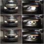 BMW 740d F01 Osram H8 LEDriving gen2 67219CW angel eyes collage