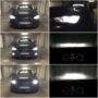 Audi A3 8V H7 Osram LEDriving Gen2 low beam + H15 V10 LED high beam & DRL + W5W CANBUS LED position lights + H8 V10 LED fog lamps collage