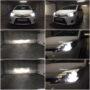 Toyota Yaris Hybrid HIR2 V6 LED low high beam collage