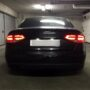 Audi A4 B8 LED licence plate C5W