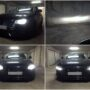 Audi A4 B8 Osram LEDriving HL H7 low beam + Osram LEDriving SL P13W DRL parking lights collage 2