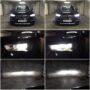 BMW X1 F48 Osram LEDriving Gen2 H7 67210CW low beam + V13S H7 LED high beam collage