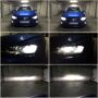 VW Polo AW Osram LEDriving 67210CW LED low + high beam collage