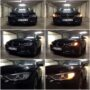 BMW F30 Osram LEDriving SL PY21W side direction indicators collage