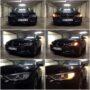 BMW F30 Osram LEDriving SL PY21W side direction indicators collage