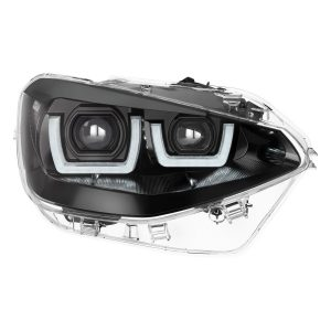 LEDriving Headlights for BMW 1er Black