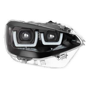 LEDriving Headlights for BMW 1er Black