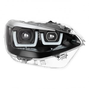 LEDriving Headlights for BMW 1er Chrome