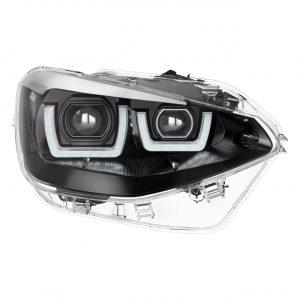 LEDriving Headlights for BMW 1er Chrome