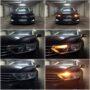VW Passat B8 Osram LEDriving SL WY21W LED side direction indicators collage