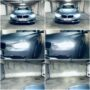 BMW 3 F31 Osram LEDriving Gen2 H7 low beam + V10 LED high beam + H6W LED position light collage