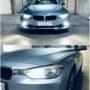 BMW 3 F31 V12 LED fog lights + H6W LED position light collage