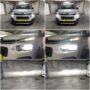 Citroen Berlingo XTR Osram LEDriving Gen2 H7 low beam + K6F H1 LED high beam collage