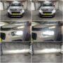 Citroen Berlingo XTR Osram LEDriving Gen2 H7 low beam + K6F H1 LED high beam collage