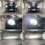 Mini Countryman R60 Osram H4 LEDriving low + high beam + W5W CANBUS position lights collage