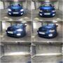 Škoda Octavia 3 LC Combi Osram CBB D3S xenon + T10 LED position lights + V10 H8 LED fog lamps collage 2