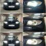 BMW 1 E81 with Osram LEDriving 67219CW H8 LED angel eyes collage