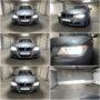 BMW E91 LCI Osram Night Breaker LED H7 collage