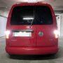 VW Caddy 3 FL1 Osram LEDriving SL P21W LED reverse light + LED licence plate light
