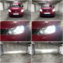 VW Caddy 3 FL1 Philips Ultinon Essential H4 LED low & high beam collage