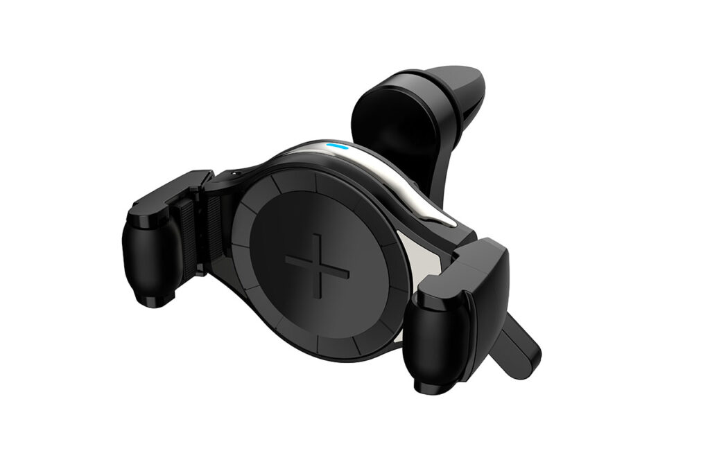 Phone Holder with Wireless Charger COMBO QC 3.0 PHW-03 02249 1