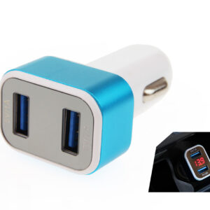 Phone charger 2xUSB + battery check TEST-04 01028 1
