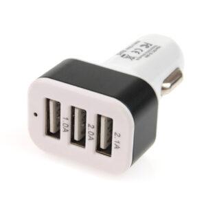 Phone charger 3xUSB white PCH-03 01027 1