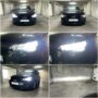 Audi A1 8X with Neolux H7 low beam + EK V12 H1 high beam + Osram LEDriving SL W21W DRL collage