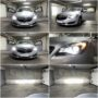 Opel Insignia A HIR2 V6 LED headlights kit for low and high beam collage