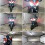 Ducati Multistrada AMiO S4 H11 LED kit low beam collage