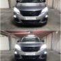 Peugeot 3008 FL Osram Night Breaker LED H7 low beam + Osram LEDriving fog gen2 fog lamps collage
