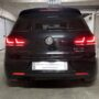 VW Golf 6 with Osram LEDriving taillights + LED licence plate