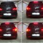 VW Golf 6 with Osram LEDriving taillights + LED licence plate collage