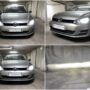 VW Golf 7 with Philips Ultinon Pro6000 H7 LED kit for low beam collage