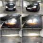 VW Jetta 5 with Osram D2S Cool Blue Intense Xenarc xenon low & high beam + Osram Cool Blue Intense H7 high beam collage