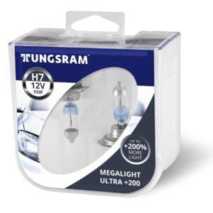 Tungsram Megalight Ultra 200 H7 58520XHU PB2