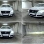 VW Passat B6 with Philips Pro6000 100% legal LED H7 low beam collage