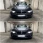 BMW F30 with H6W CANBUS position lights collage