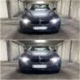 BMW F30 with PW24W High Power Cree LED DRL collage