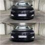 VW Passat B8 with Osram LEDriving SL W21W LED DRL collage